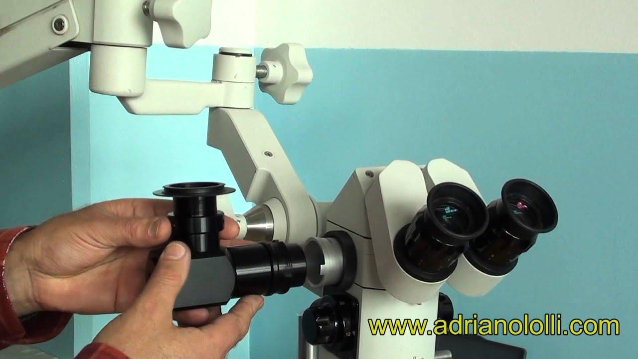 Flexiomotion adapter für zeiss dentalmikroskope mit sony hxr mc p