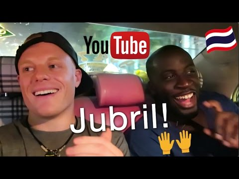 MEETING OUR IDOL✈️🙏 🌴 JUBRIL AGORO on Cost of Living in Thailand + 7 yrs of World Travel for Cheap