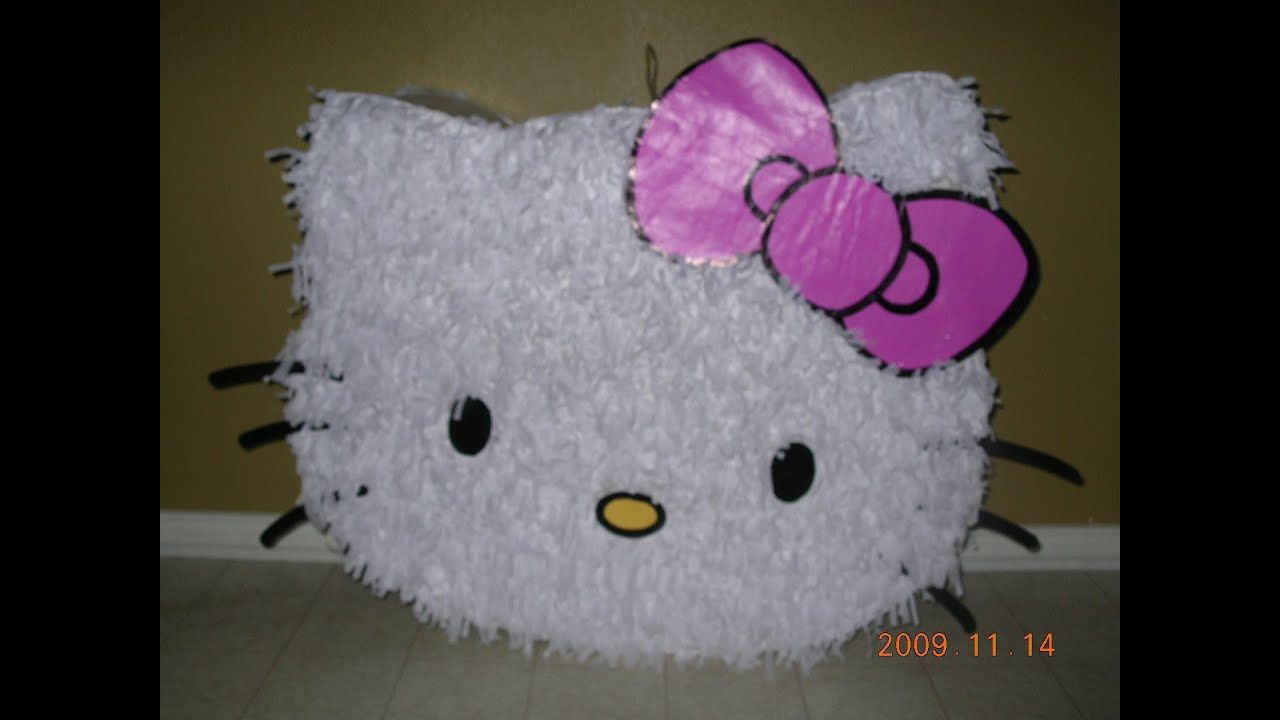 Pi ata de hello kitty como hacer una pi ata con cart n - Casa hello kitty ...
