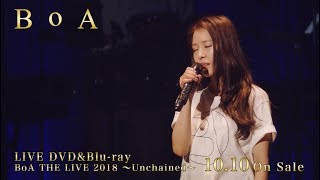 BoA / LIVE DVD & Blu-ray「BoA THE LIVE 2018 ~Unchained~」 teaser映像 BoA 検索動画 28