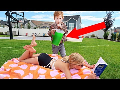 SLIME Prank on my SISTER!!! (gone wrong)