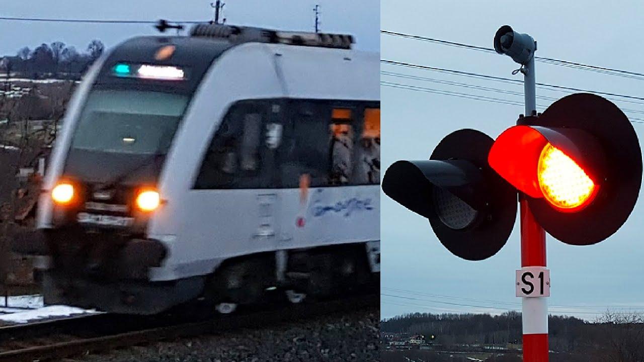 Przejazd kolejowy, Gołubie Kaszubskie ul. Sambora II | Polish railroad crossing