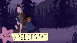 Camp Camp Speedpaint