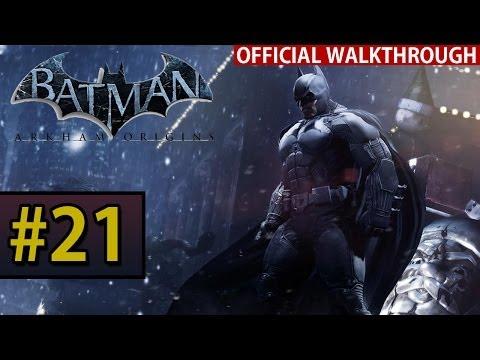 Batman Arkham Origins - Walkthrough Gameplay - Part 21 Hotel Rooftop