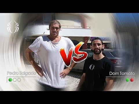 Pedro Salgado VS Dom Tomato - Peter Parkour Challenge