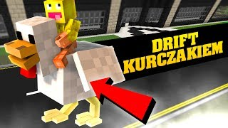 Minecraft: DRIFT NA KURCZAKU?! | MINI-GAMES z JDabrowsky i Smav