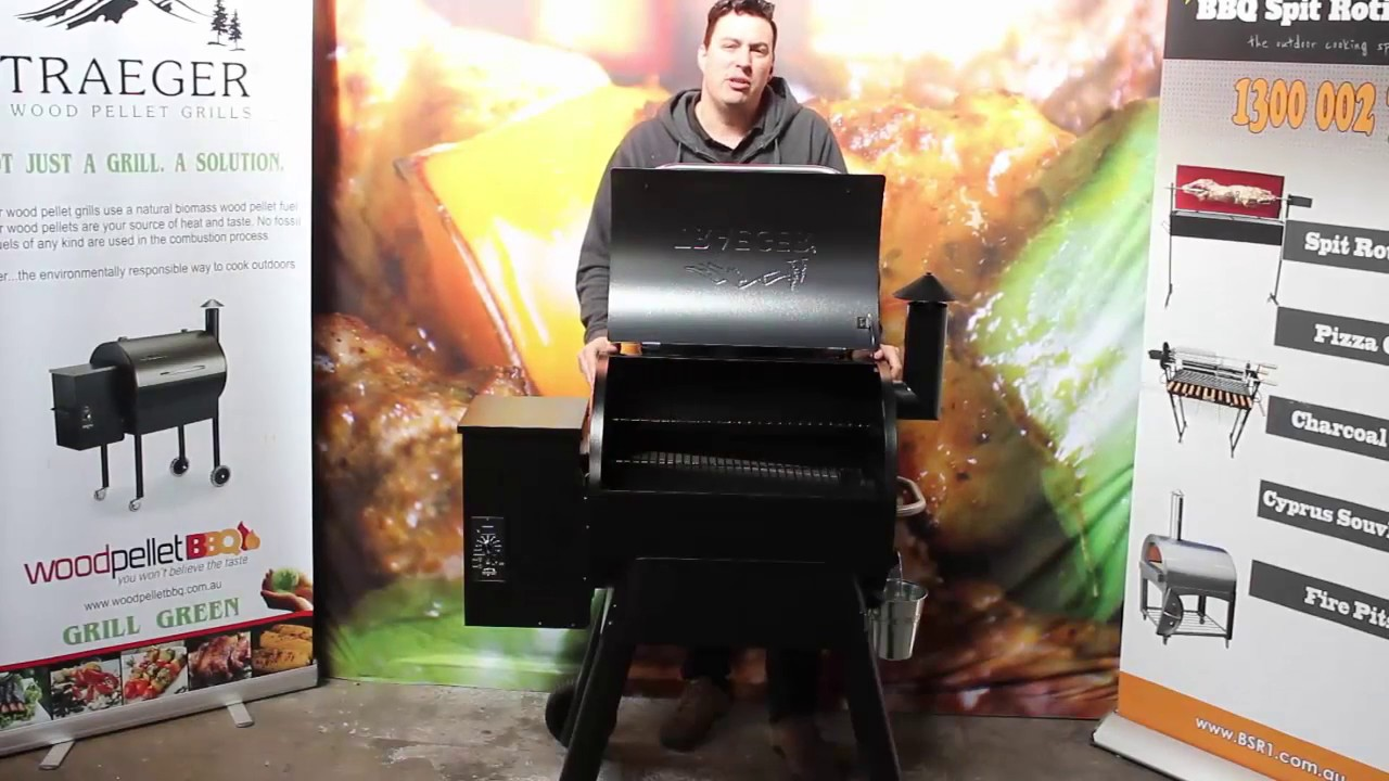 Traeger Pellet Grill Review Youtube