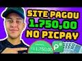 😱REDBUY PAGOU R$1.750,00 NO PICPAY + GANHE R$30,00 NO CADASTRO E R$200,00 POR DIA