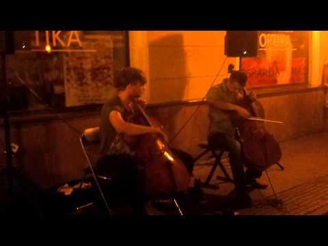 T&K DUO 2014 07 26 Klaipeda street music (part 1)