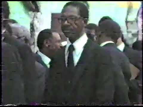 Bishop Alvin S. Moss (1898-1982) Homegoing Service - Clip 13 - Funeral Procession