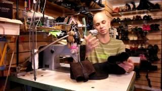 Сапожки от CHANEL. Обувь которая понравилась. Ремонт обуви.