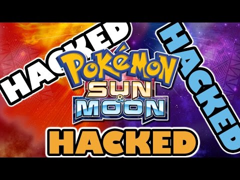 POKEMON SUN AND POKEMON MOON ARE THE MOST HACKED POKEMON GAMES EVER!!!