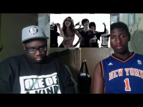 Black People React to Kpop - Brown Eyed Girls - Abracadabra MV Reaction