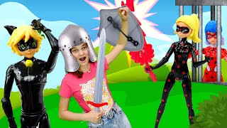 Супер Кот и Леди Баг в прошлом - Принцесса Рыцарь против АнтиБаг! - Видео шоу Будет исполнено
