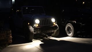 Diy Rock Lights Installation (2013 Jeep Wrangler Rubicon)