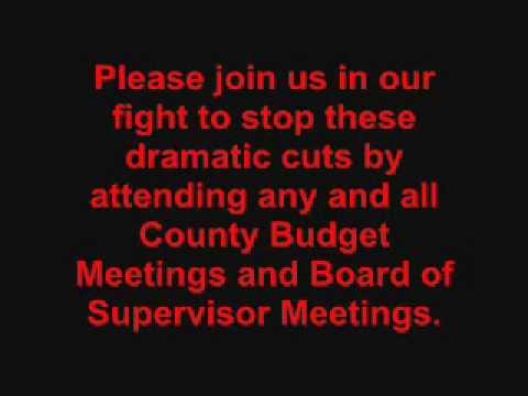 Sacramento County Mental Health Budget Cuts Pt 2 Wmv Youtube