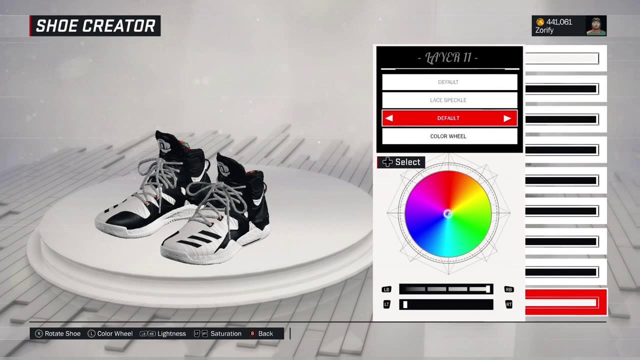 dd7232122657 NBA 2K17 Shoe Creator - Adidas D Rose 7