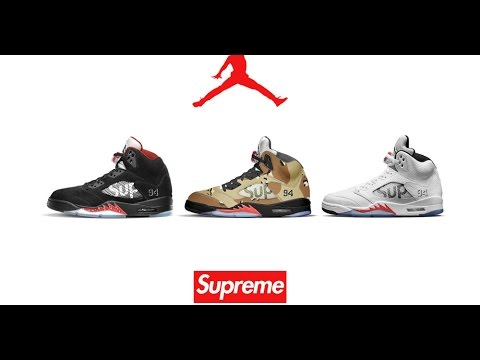 check out 43196 728b9 Supreme X Air Jordan 5