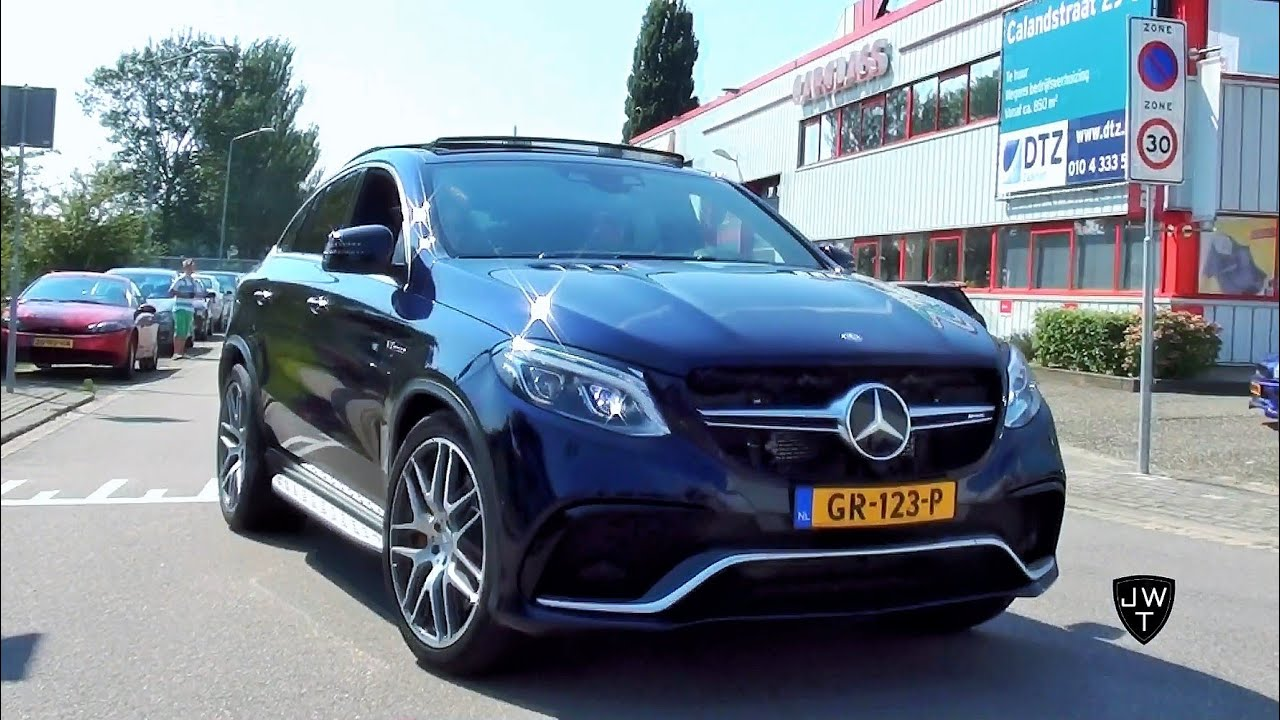 NEW 2016 Mercedes-AMG GLE 63 S Coupe w/ 585 HP! Looks & Exhaust ...