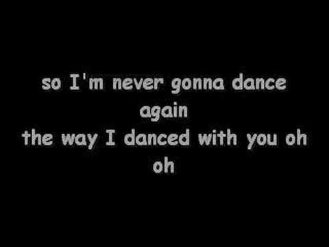 Lyrics to the song careless whisper