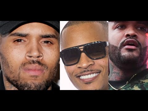 Chris Brown Arrested In Paris TI REACTS And JOYNER Lucas REACTS