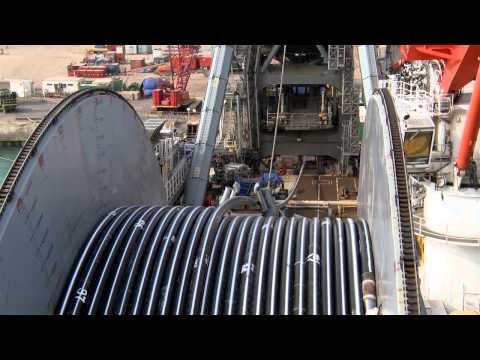 McDermott Spoolbase Aerial and LV105 Installation_2014