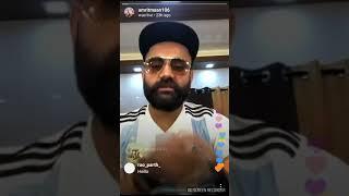 Amrit Mann video Snapchat 19 September 2018 Amrit Mann Live ok night 6:00 ok