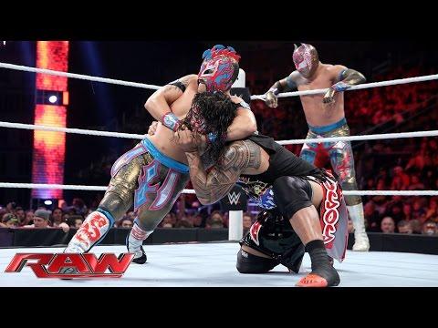 The Usos vs. The Lucha Dragons - No. 1 Contenders' Match: Raw, November 30, 2015 thumbnail