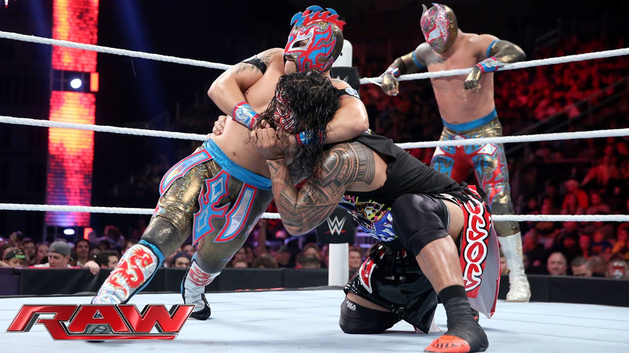 Download The Usos vs. The Lucha Dragons - No. 1 Contenders' Match: Raw, November 30, 2015