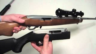 Repeat youtube video Ruger Takedown 10/22 Table Top Review