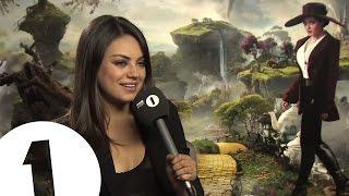 Mila Kunis talks to Chris Stark off the Scott Mills show on Radio 1 thumbnail