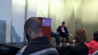 Who We Be: Jeff Chang + Kiese Laymon  Lecture at NYU 4/18 (part 2)