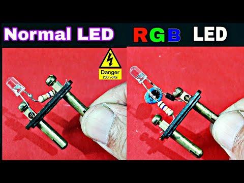 LED & RGB-LED Directly 230v AC