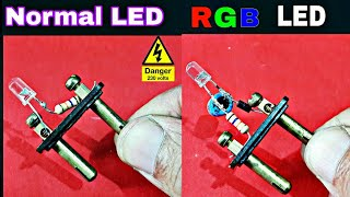 LED & RGB-LED directly 230v AC