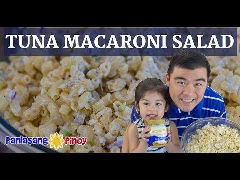 Tuna Macaroni Salad (Classic Version With Ingredients)