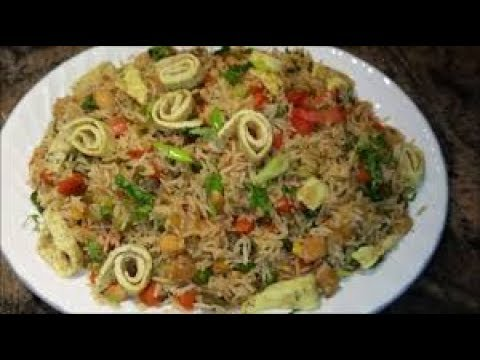 How to Make Chicken Fried Rice Pakistani Style Homemade Easy Video Tutorialᴴᴰ