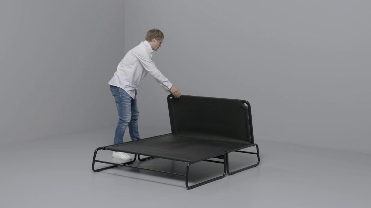tv chair ikea accent chairs under 100 2 - hammarn: anleitung vom sofa zum bett youtube