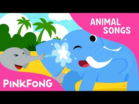 Mr. Fun Elephant | Elephant | Animal Songs | Pinkfong Songs for Children