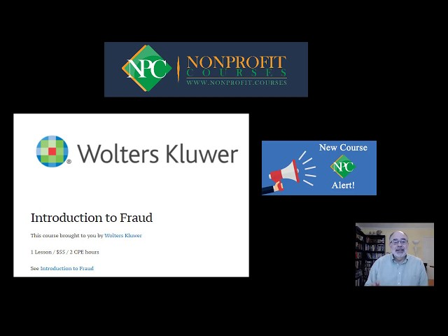 New Course Alert: Introduction to Fraud