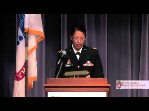 """Major General Marcia Anderson:  """"It Is Not Where You Start That Matters - It Is Where You Finish"""""""