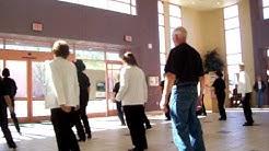 Fountain Hills, AZ community center line dance group