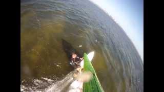 Windsurfing the Gnarly chop II