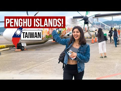 Best Summer Destination of Taiwan! Penghu Islands | Tanya Khanijow {subtitles available}