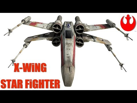 RC ADVENTURES - UNBOX & FiRST FLiGHT! STAR WARS T-65 X-WiNG