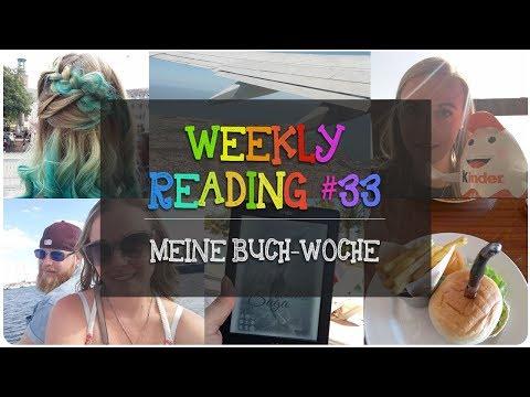 Rückflug, Umräumen, Frisör besuch und Geburtsag | Meine Buch-Woche #33 [Weekly Reading]
