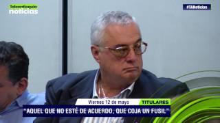 Titulares de Teleantioquia Noticias - viernes 12 de mayo de 2017
