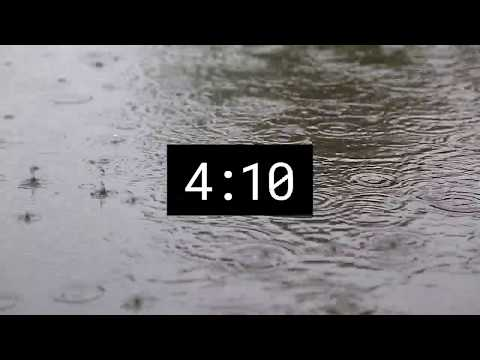Relaxing rain sound. 5 minutes of pure pleasure.