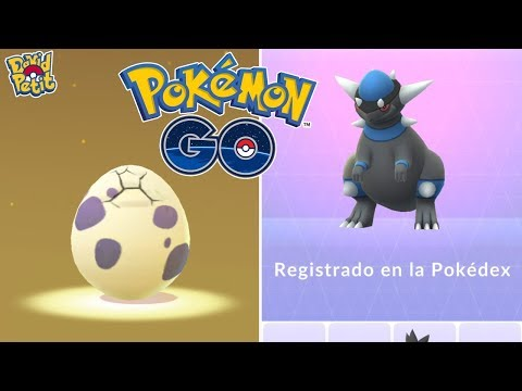 REGISTRO DE RAMPARDOS MÁS ABRIENDO HUEVOS DE 10 KM CON TROZO ESTRELLA! [Pokémon GO-davidpetit] thumbnail