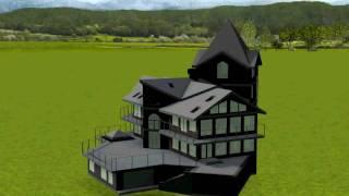 Загородный дом 3D проектирование в Autodesk REVIT