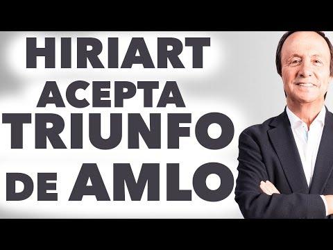 Pablo Hiriart acepta TRIUNFO de López Obrador ¡Están RESIGNADOS a la DERROTA!
